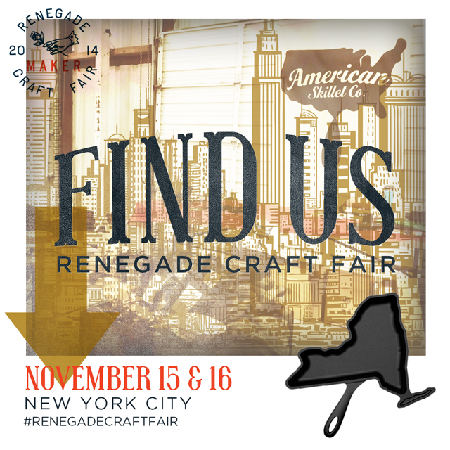 We're Headed to New York for the Renegade Craft Fair!