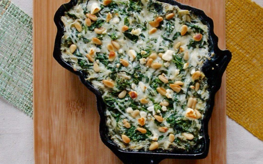Spinach, Feta & Artichoke Dip