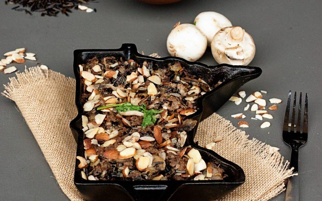 Minnesota Wild Rice Hot Dish (a.k.a. Casserole)