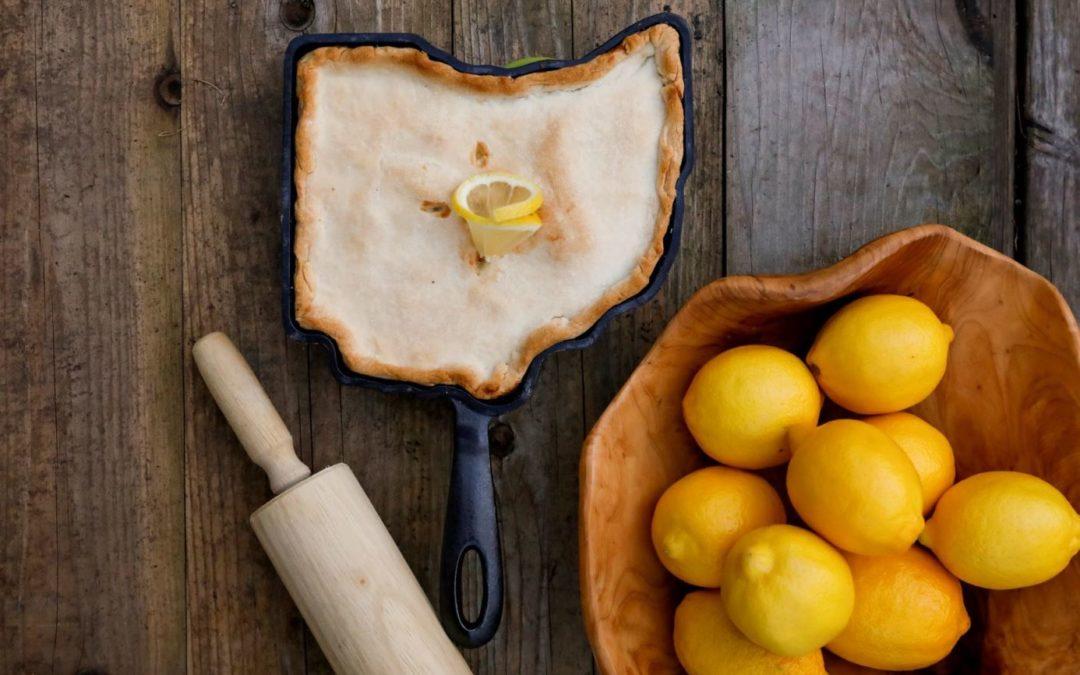 """Ohio """"Shaker"""" Lemon Pie"""